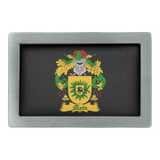 Mata Family Coat of Arms Belt Buckle