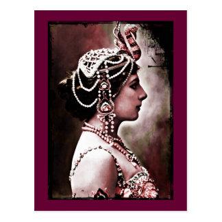 Mata Hari 1910 Postcard