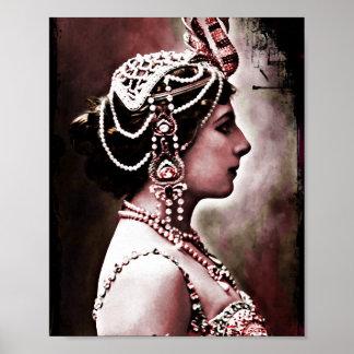 Mata Hari 1910 Poster