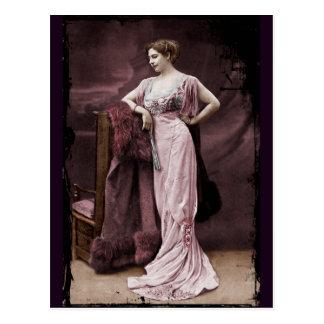 Mata Hari at the Theatre Postcard