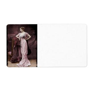 Mata Hari de l'Odeon Etiqueta De Envío