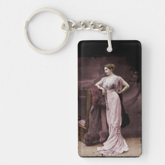 Mata Hari de l'Odeon Keychain
