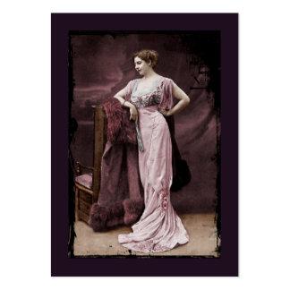Mata Hari en vestido del teatro Tarjetas De Visita Grandes