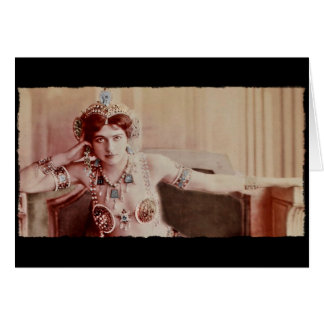 Mata Hari Harem Costume Card