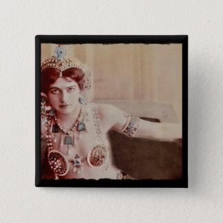 Mata Hari Harem Costume Pinback Button