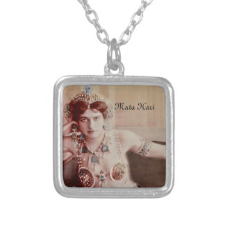 Mata Hari Harem Costume Silver Plated Necklace