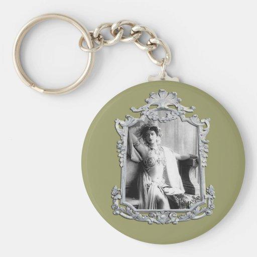 Mata Hari Key Chains