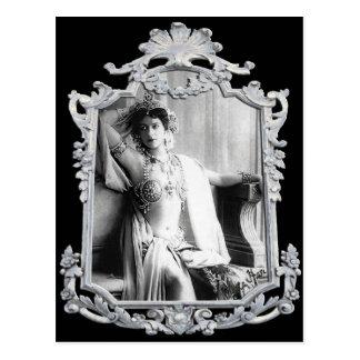 Mata Hari Postcard