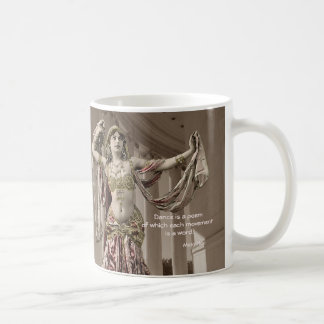Mata Hari Vintage Bellydance Quote Coffee Mug