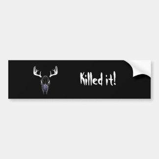 Matado le pegatina para el parachoques pegatina para auto
