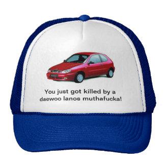 Matado por los lanos de una Daewoo Gorras De Camionero