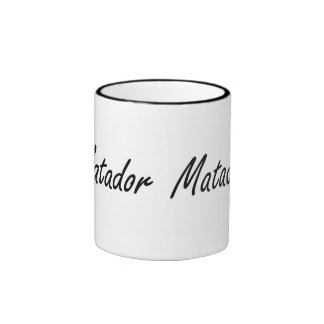 Matador Artistic Job Design Ringer Coffee Mug