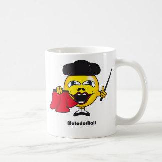 Matador Ball Classic White Coffee Mug