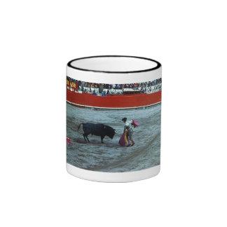 Matador , Bullfight Ringer Coffee Mug