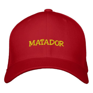 MATADOR GORRAS BORDADAS