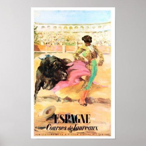 Matador Spain Vintage Travel Poster Restored