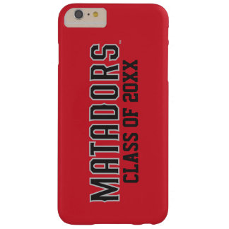 Matadors with Class Year - Gray Outline Barely There iPhone 6 Plus Case