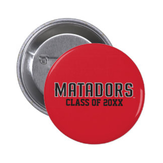 Matadors with Class Year - Gray Outline Button