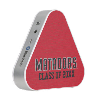 Matadors with Class Year - Gray Outline Speaker