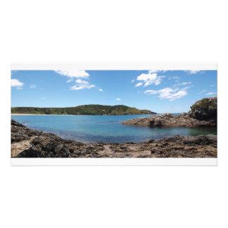 Matai Bay - Ohungahunga Bay side Panorama Card