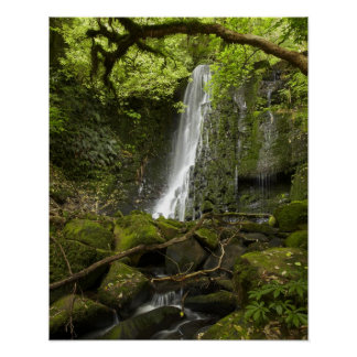 Matai Falls, Catlins, South Otago Posters