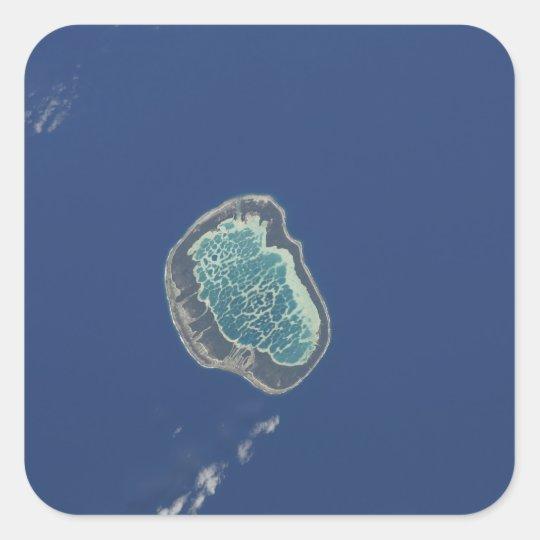 Mataiva Atoll, Tuamotu Archipelago Square Sticker