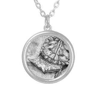 Matamata turtle necklace