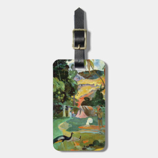 Matamoe or, Landscape with Peacocks, 1892 Bag Tag