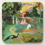 Matamoe or, Landscape with Peacocks, 1892 Drink Coaster