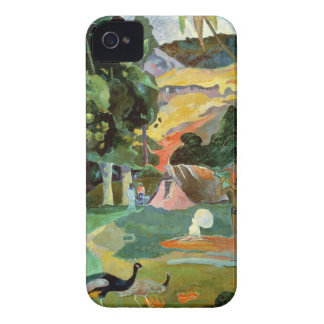 Matamoe or, Landscape with Peacocks, 1892 iPhone 4 Case