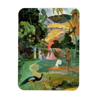Matamoe or, Landscape with Peacocks, 1892 Rectangular Photo Magnet