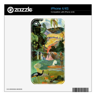 Matamoe or, Landscape with Peacocks, 1892 Skin For The iPhone 4S