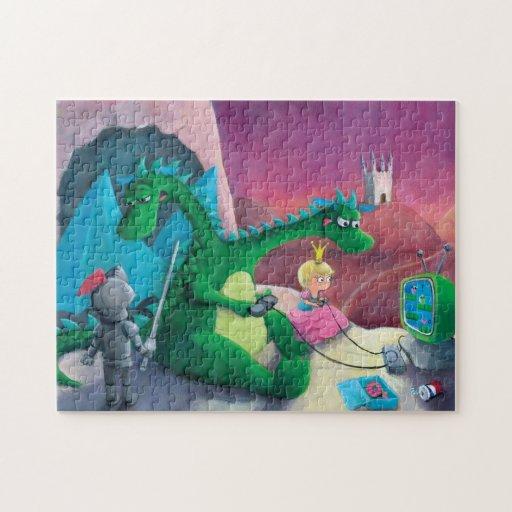 Matando el dragón (es duro) puzzle