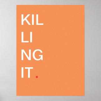 Matándole - poster de motivación