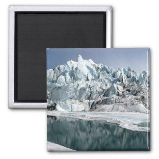 Matanuska Glacier Mouth Alaska Fridge Magnets