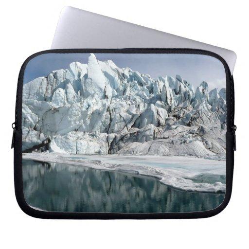 Matanuska Glacier Mouth Alaska Laptop Sleeve