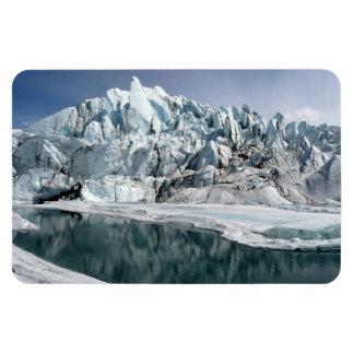 Matanuska Glacier Mouth Alaska Magnet