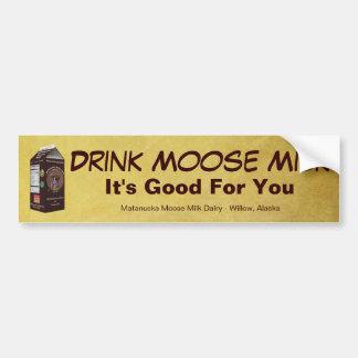 Matanuska Moose Milk Bumper Stickers