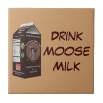Matanuska Moose Milk Ceramic Tile