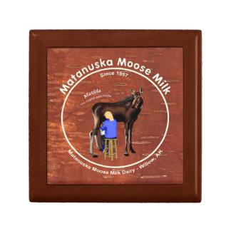 Matanuska Moose Milk Keepsake Box