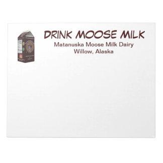 Matanuska Moose Milk Note Pad