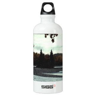 Matanuska River 01 Aluminum Water Bottle