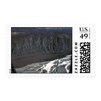 Matanuska River and High River Bluff Postage Stamps