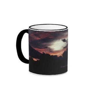 Matanuska Valley Sunset Ringer Mug