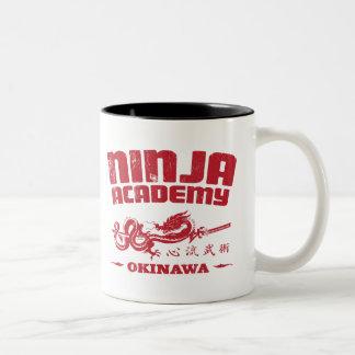 Matanza Bill de Okinawa de la academia de Ninja Taza Dos Tonos