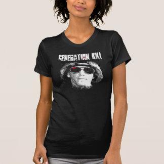Matanza de la generación camisetas