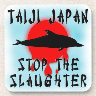 Matanza de Taiji Posavasos De Bebidas