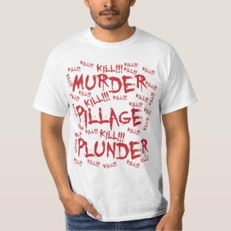¡Matanza del pillaje del pillaje del asesinato! Camisas
