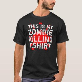 Matanza del zombi playera