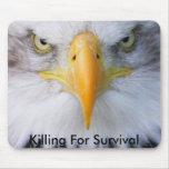 Matanza para la supervivencia tapetes de raton
